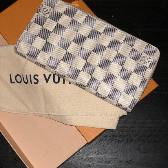 Handbags - LOUIS VUITTON Damier Azur wallet